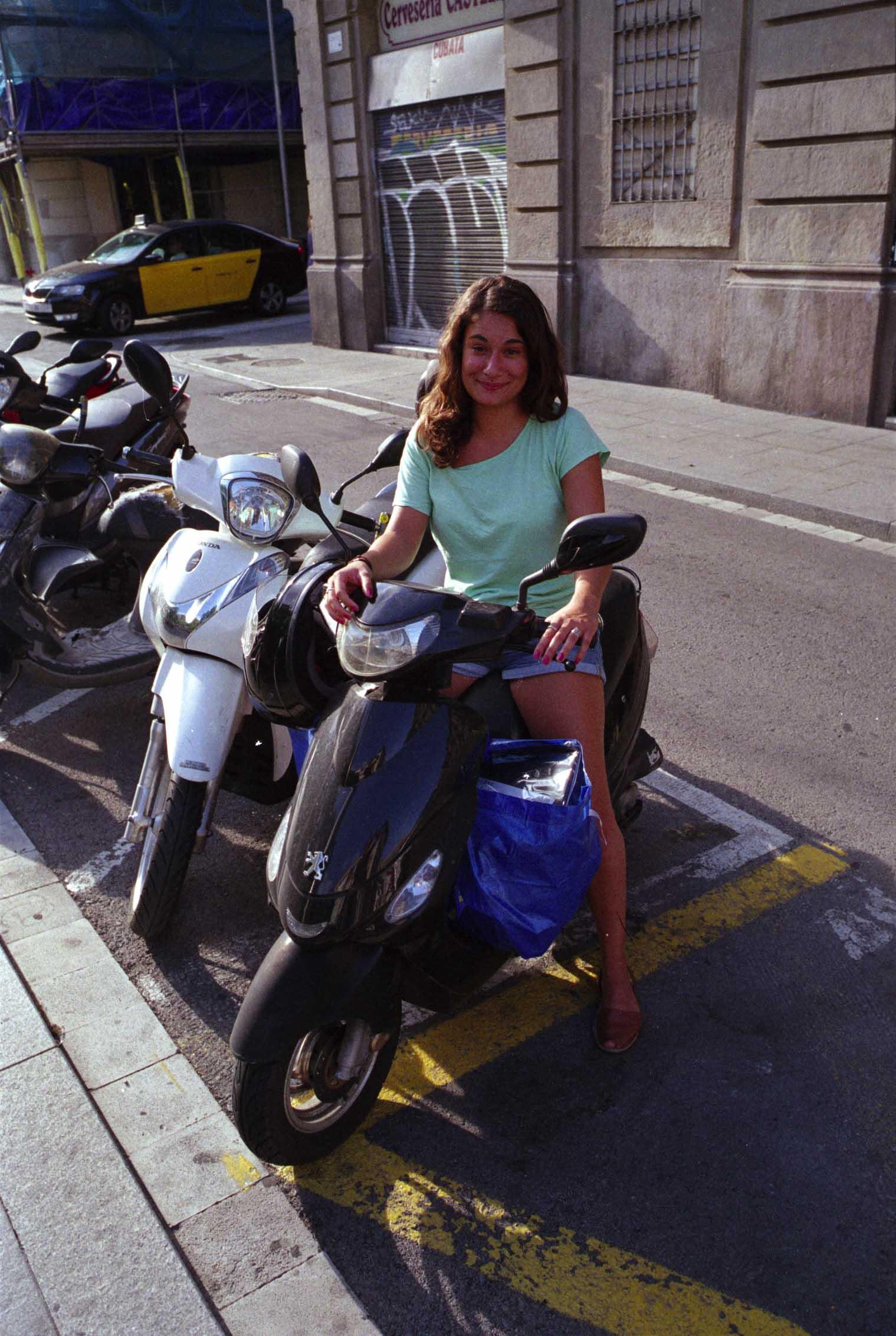 Barcelona, moto