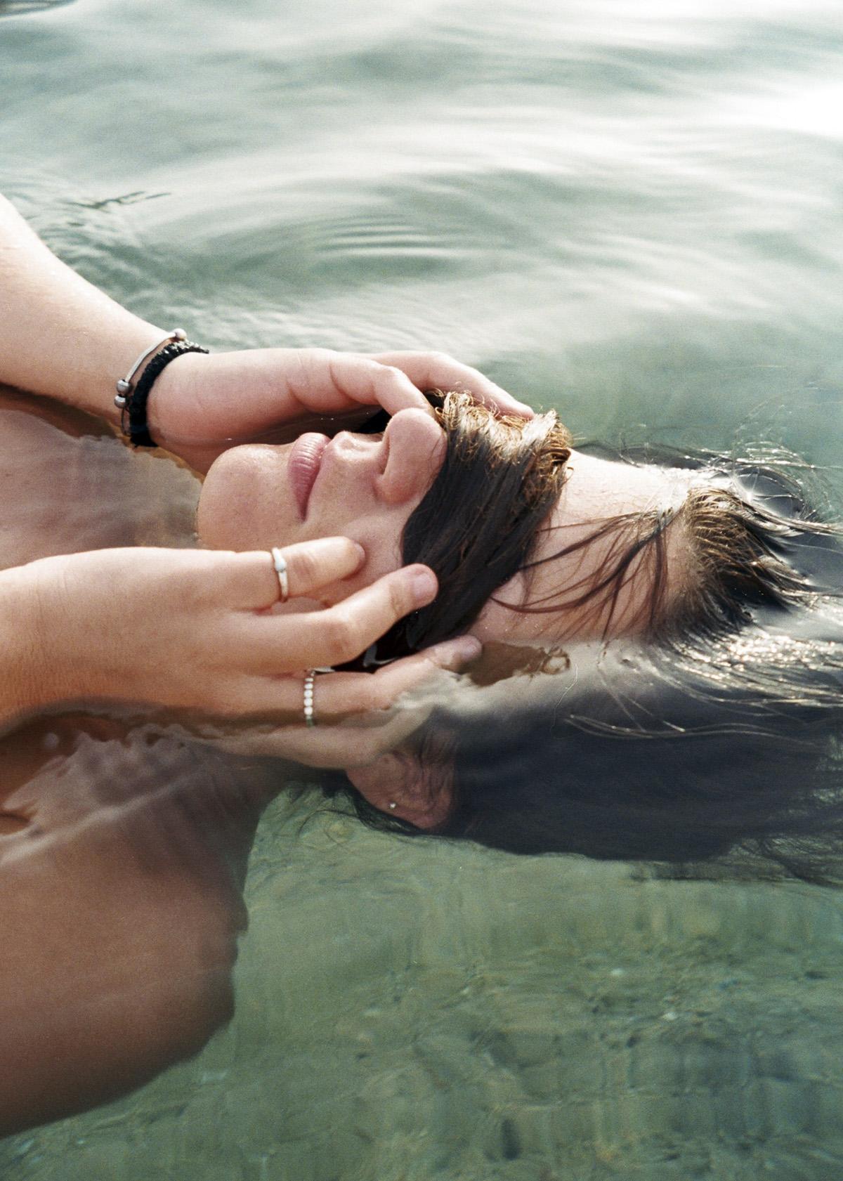 mar, bañarse